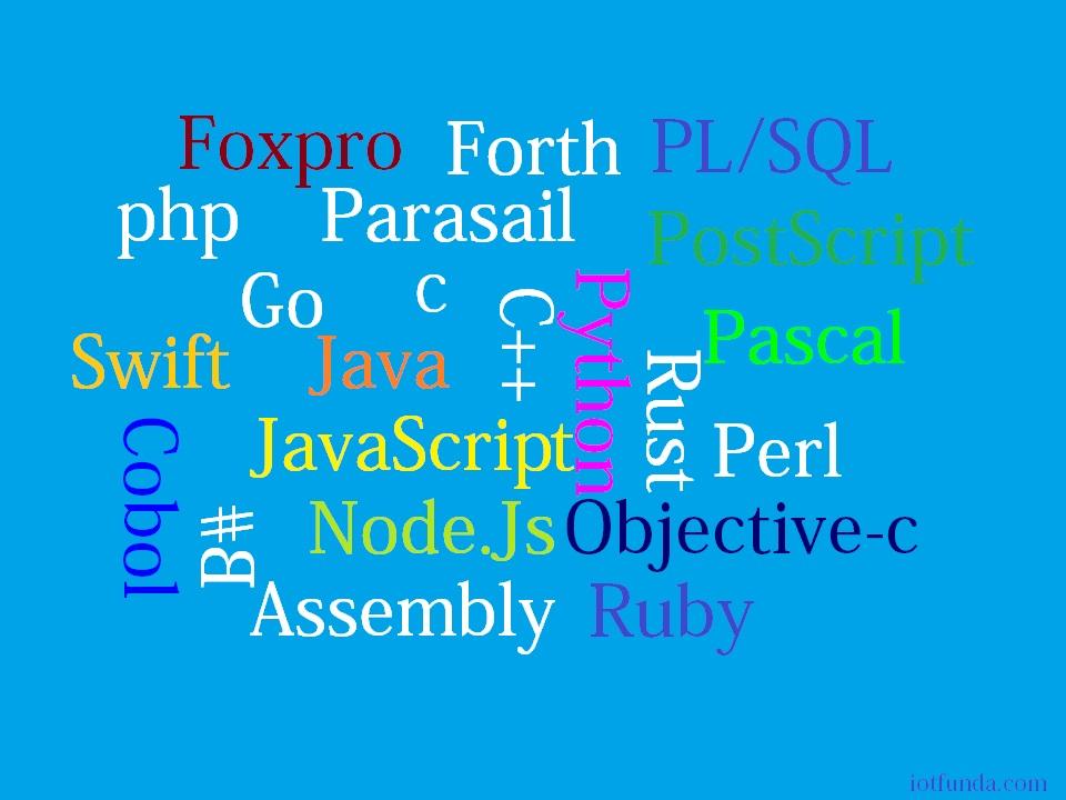 top 10 IoT Programming Languages